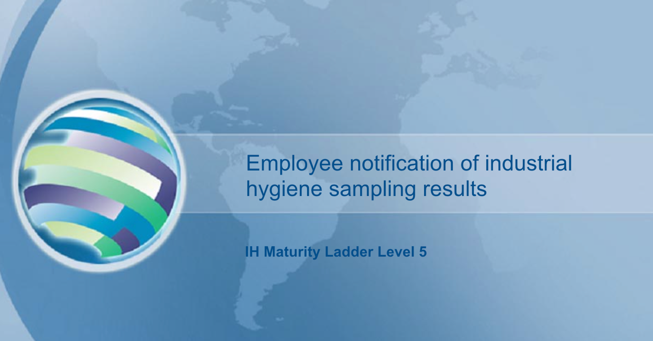 Employee notification IH