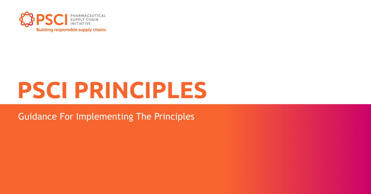 Guidance For Implementing The Principles
