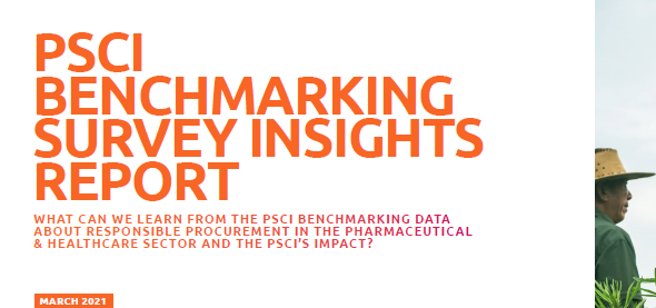 Benchmarking report: Responsible procurement and PSCI's impact